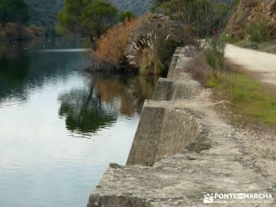 Garganta de Picadas - Vía Verde del Alberche; rutas por la sierra de madrid